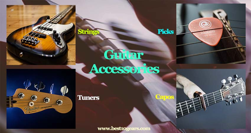 Accessories Every Guitarist Need (strings, picks, tuners, capos, straps, cables, stands, etc)